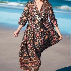 Spell Designs Folktown Wintergarden Maxi Dress